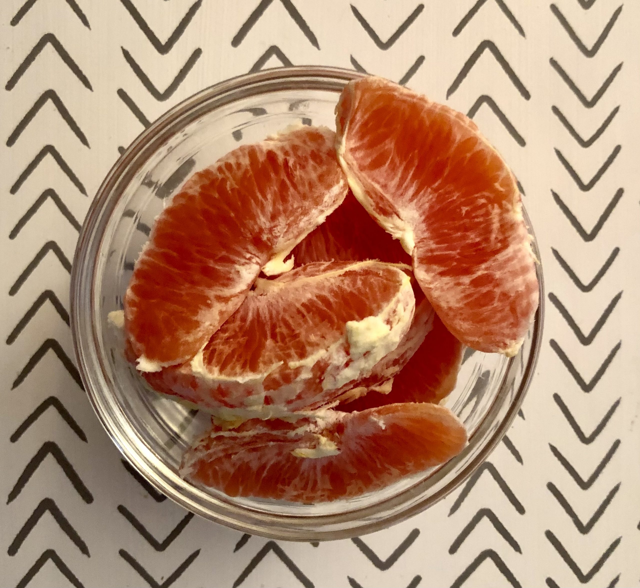 Creating Highly Nutritious Meals snack oranges