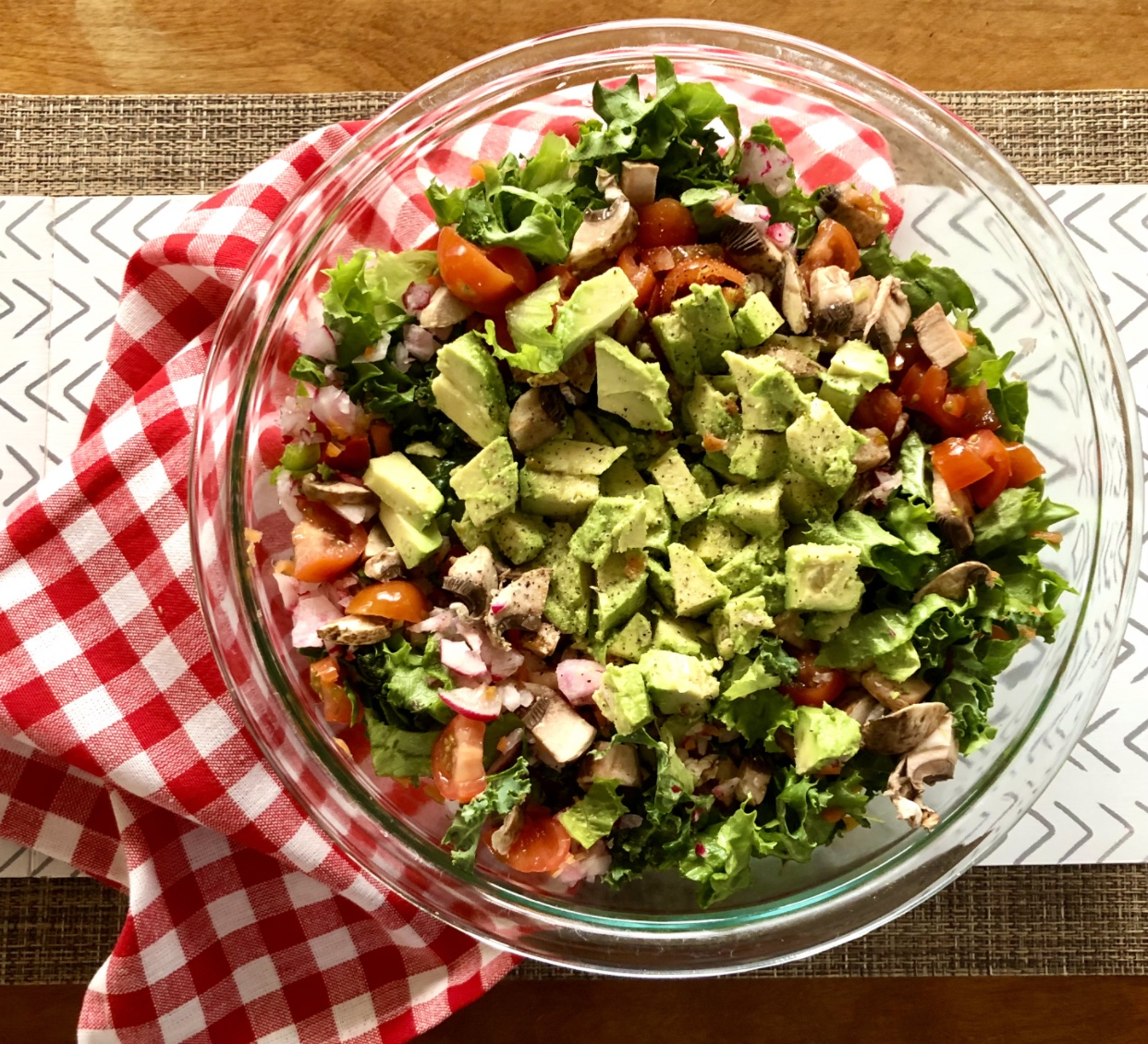 Spring Health Tips fresh veggies