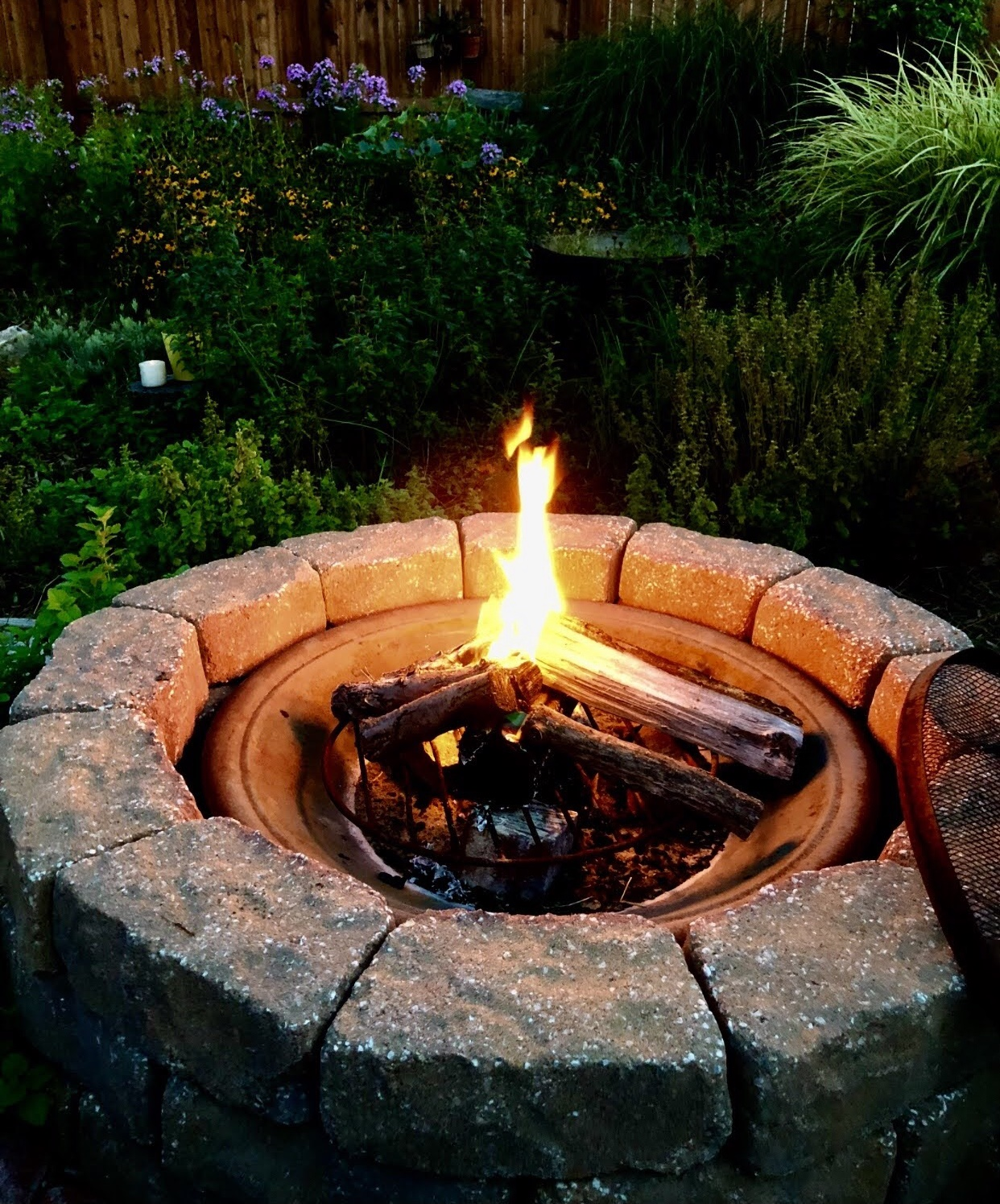 Summer Health Tips fire pit