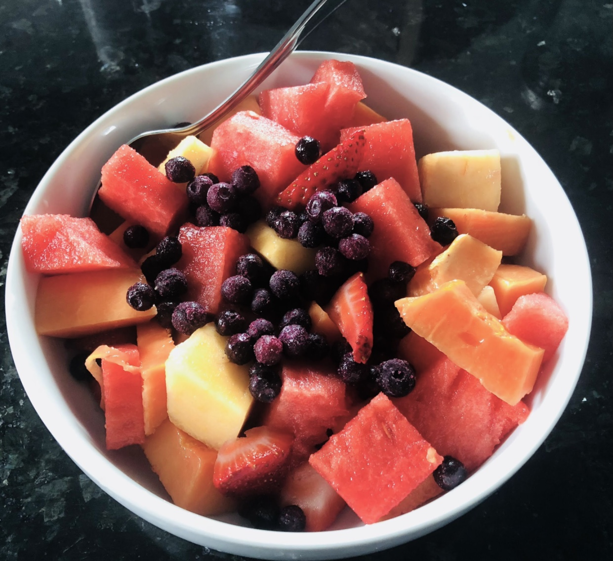 Chế độ ăn thuần chay thô Lợi ích từ trái cây hỗn hợp